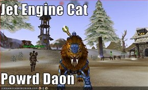 Jet Engine Cat  Powrd Daon