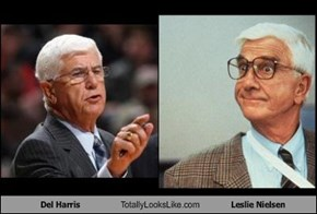 Del Harris Totally Looks Like Leslie Nielsen