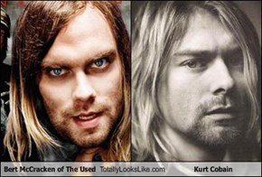 Bert McCracken of The Used Totally Looks Like Kurt Cobain