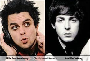 Billie Joe Armstrong Totally Looks Like Paul McCartney