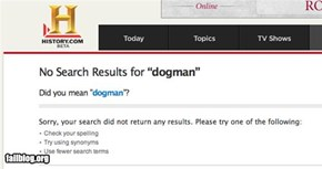 Search Fail