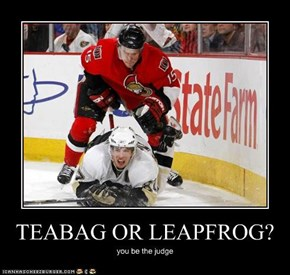 TEABAG OR LEAPFROG?