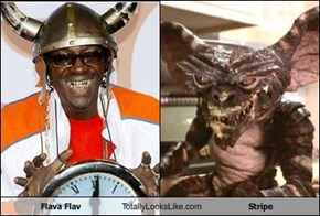 Flava Flav Totally Looks Like Stripe
