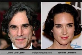 Daniel Day-Lewis Totally Looks Like Jennifer Connelly