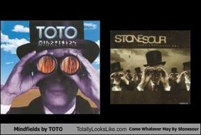 Mindfields by TOTO Totally Looks Like Come Whatever May By Stonesour