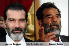 Antonio Banderas Totally Looks Like Saddam Hussein