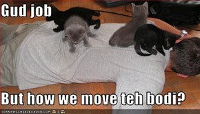 Gud job  But how we move teh bodi?
