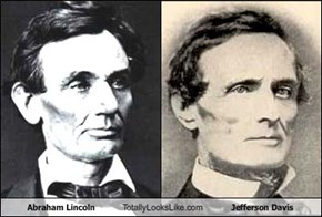 Abraham Lincoln Totally Looks Like Jefferson Davis