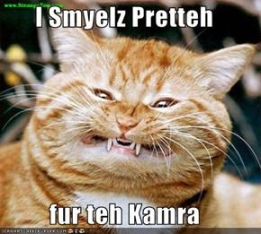 I Smyelz Pretteh  fur teh Kamra