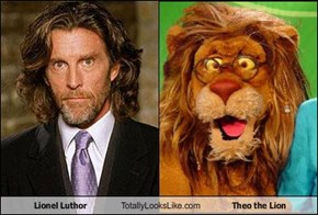 Lionel Luthor Totally Looks Like Theo the Lion