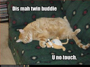 Dis mah twin buddie