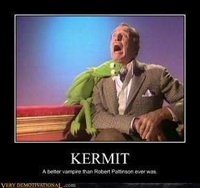 Kermit the Vampire