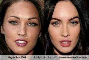 Megan Fox 2005 Totally Looks Like A DIFFERENT PERSON 2009