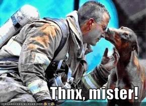 Thnx, mister!
