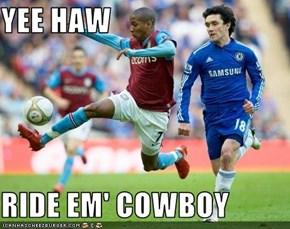 YEE HAW  RIDE EM' COWBOY