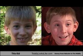 This Kid Totally Looks Like Dewey From Malcolm In The Middle