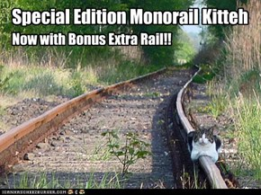 Special Edition Monorail Kitteh