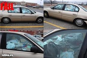 Car Cleaning Fail