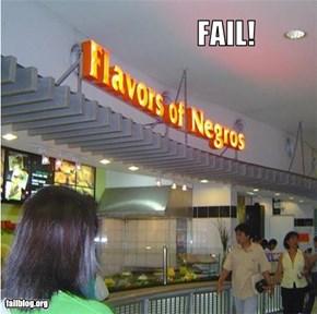 Fast Food Name Fail