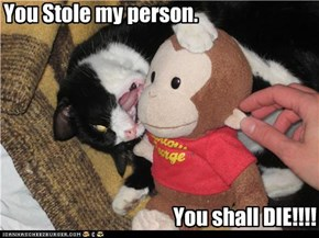 You Stole my person.