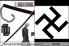This Logo From Bleach Totally Looks Like Swastika