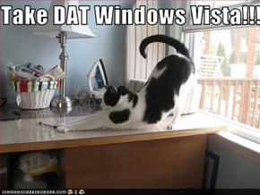 Take DAT Windows Vista!!!