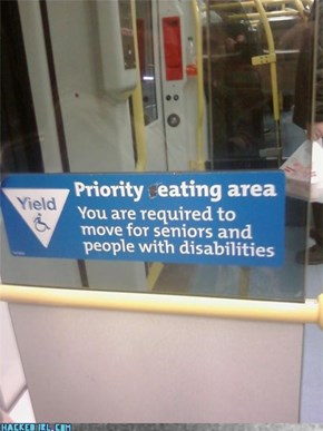 Priority Eating