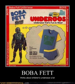 Boba Fett Is Really into Merchandising