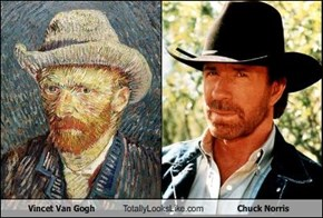 Vincet Van Gogh Totally Looks Like Chuck Norris