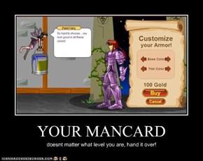YOUR MANCARD