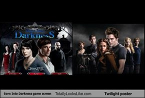 Born Into Darkness game screen Totally Looks Like Twilight poster