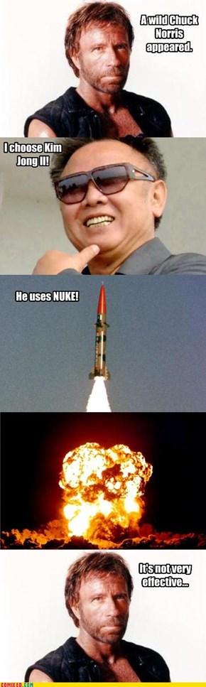 Chuck Norris vs. Kim Jong Il
