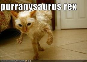 purranysaurus rex