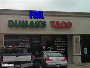 Taco Shop Name Fail