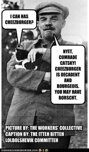 SOVIET-ERA LOLCAT, CIRCA 1920