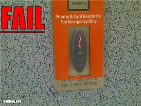 Fire Emergency Fail