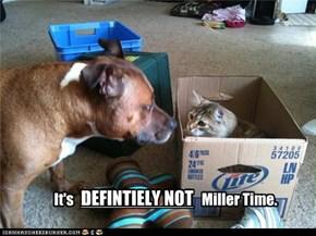 Miller Time?