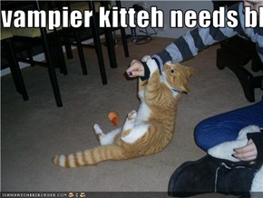 vampier kitteh needs blood