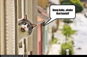 Dang baby...shake that booty!!