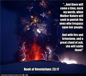 The missing chapeter of the book of revelations.