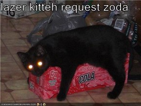 lazer kitteh request zoda