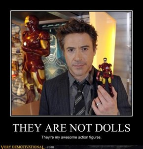 Sweet Dolls Mr. Downey Jr.