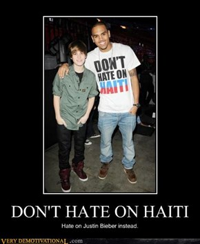 DONT HATE ON HAITI