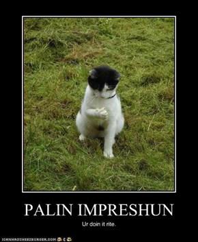 PALIN IMPRESHUN