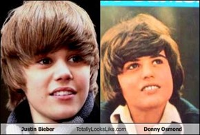 Justin Bieber Totally Looks Like Donny Osmond
