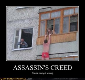 Assassin's Creed Is Harder in Real Life