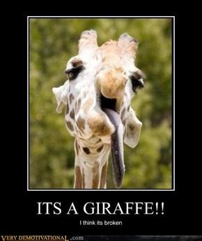 Giraffe Malfunction