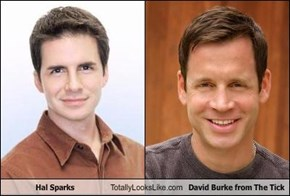 Hal Sparks Totally Looks Like David Burke from The Tick