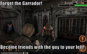 Forget the Garrador!  Become friends with the guy to your left!