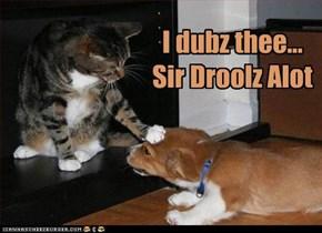 I dubz thee... Sir Droolz Alot